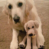"Personalised ""Pet as a Plush"" crochet cuddly toy"