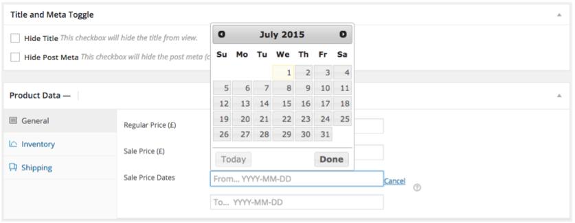 Scheduled sale