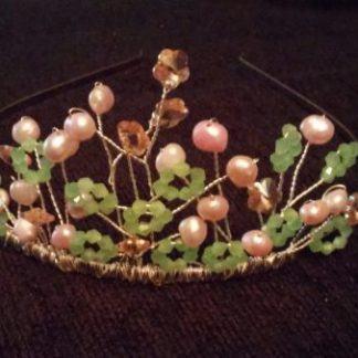 Pretty pastel tiara