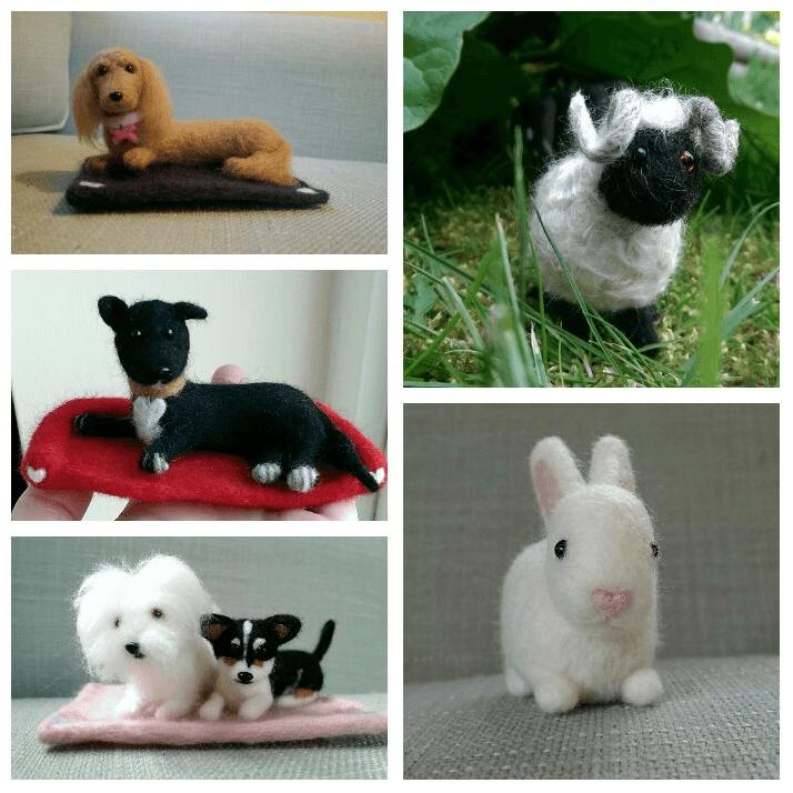 Miniature pet animal dog cat