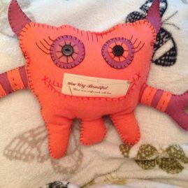 Felt Worry Monster