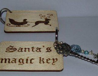 Santa Christmas magic key