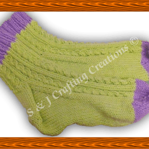 Hand Knitted Socks For Adults