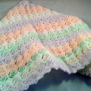 Crochet C2C Baby Blanket ~ choose sizes and colours