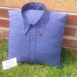 Memorial Gifts Dad / Granddad / Brother memory shirt cushion father of the bride gift