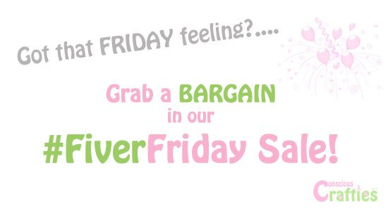 #FiverFriday Fiver Friday Deals Sales Offers £5