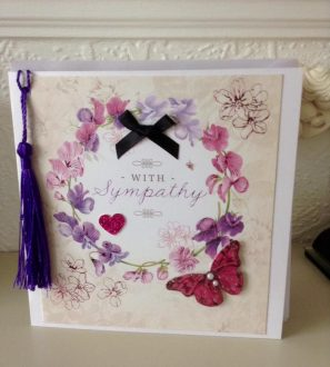 Handmade With Sympathy Card