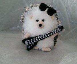 Needlefelt Miniature Hedgehog Sir Rock Hog mini hedgehog mini hog