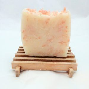Handmade Pink Chiffon Lemonade Citrus Soap - All Natural Soap for Troubled Skin Made4Hypersensitives
