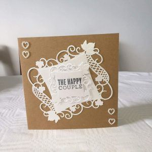 The Happy Couple Wedding card