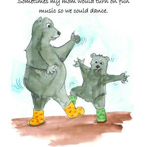 Mommy Can't Dance book - Help children understand Chronic Illness