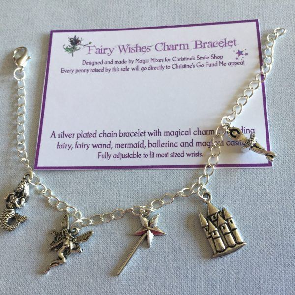 Magical Fairy Charm Bracelet. Conscious Crafties is donating handmade crafts to support Christine Miserandino, author of the Spoon Theory.