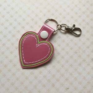 Conscious Crafties Heart Keyring