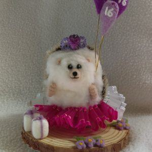 Sweet Sixteen Birthday Hedgehog