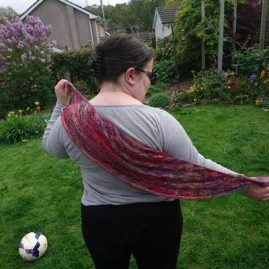 Luxury Lady of Shalott Shawl