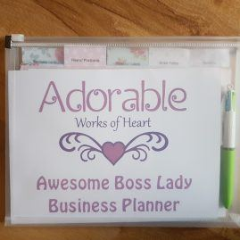 awesome boss lady planner