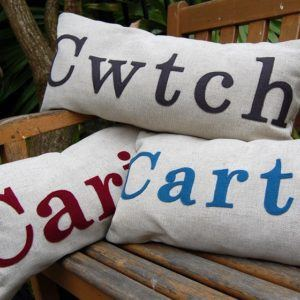 welsh word cushions