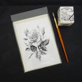 Rose Blank Card 4 (Medium)