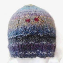 owl hat front