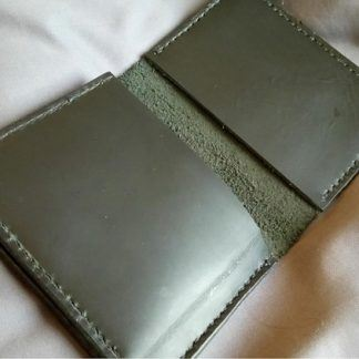 best man gift Billfold Leather Wallet - Hand Stitched Mens Gift