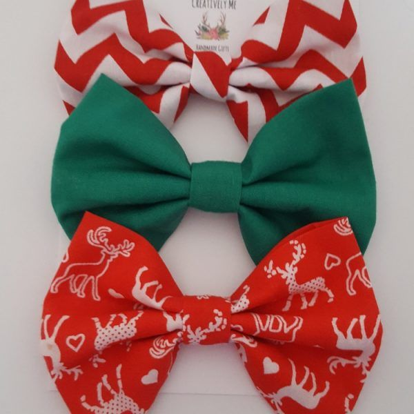 Christmas hair bow accessories
