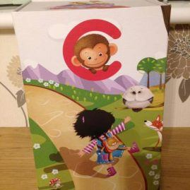 Cubby bear presentation box