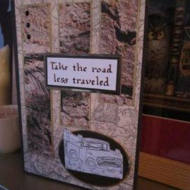 princesskitten handmade cards road less travelled 3
