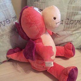 Dragon pink purple cubby bear