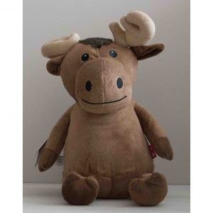 Moose personalised cubby bear toy