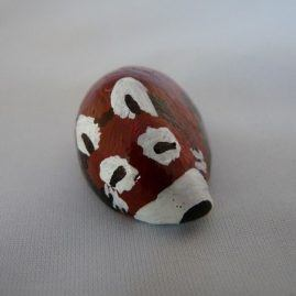 Painted Shell Red Panda 2 (Medium)