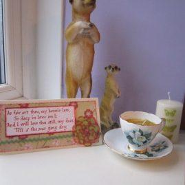 princesskitten handmade calligraphy cards burns valentine 6