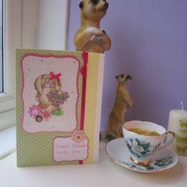 princesskitten handmade calligraphy cards some bunny valentine 4