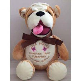 Bulldog Toy cubby bear