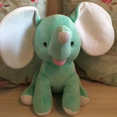 Dumble green elephant toy