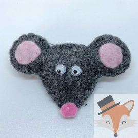 Mouse Brooch 1