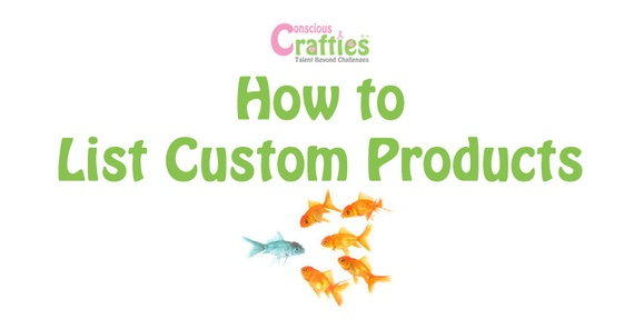 How to add custom products