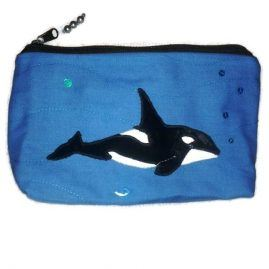 Killer whale pencil case