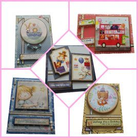 Pack of 5 Mixed Childrens Birthday Cards