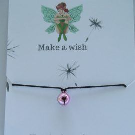 Fairy tinkling bell wish bracelet