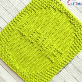 RZ Love Worded Facecloth Hot Green 1