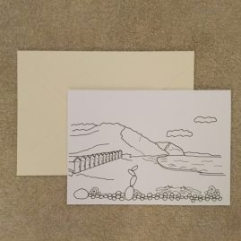 Beach Colouring Card F (Medium)