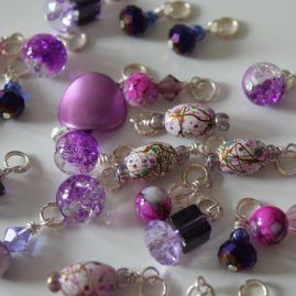 craft supplies uk beads purple