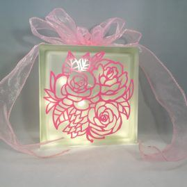 Flowers Bouquet Floral Nightlight 1