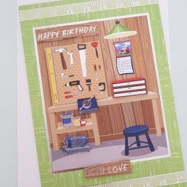 Male Hobby Birthday Card