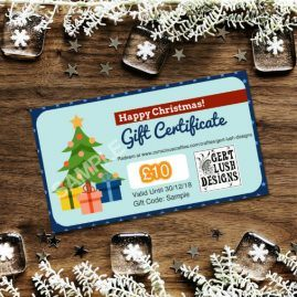 Print At Home Personalised Christmas Gift Voucher 1