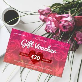 Print At Home Valentines Gift Voucher