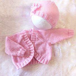 pink bolero and hat2