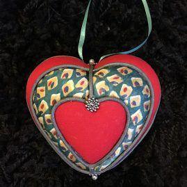 Heart bauble
