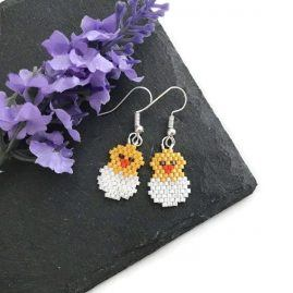 Chick and Egg Bright Earrings SP 3