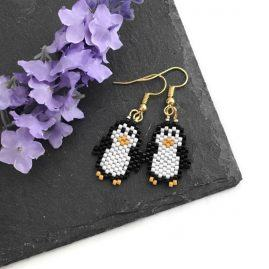 Penguin Earrings GP 3